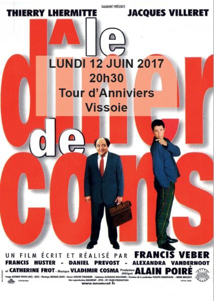 Lundi 12 juin- 20h30- Tour d'Anniviers- Vissoie