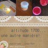 Altitude 1700 - cosmétiques naturels